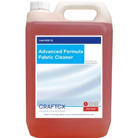 Craftex Advanced Formula Fabric Cleaner 5ltr